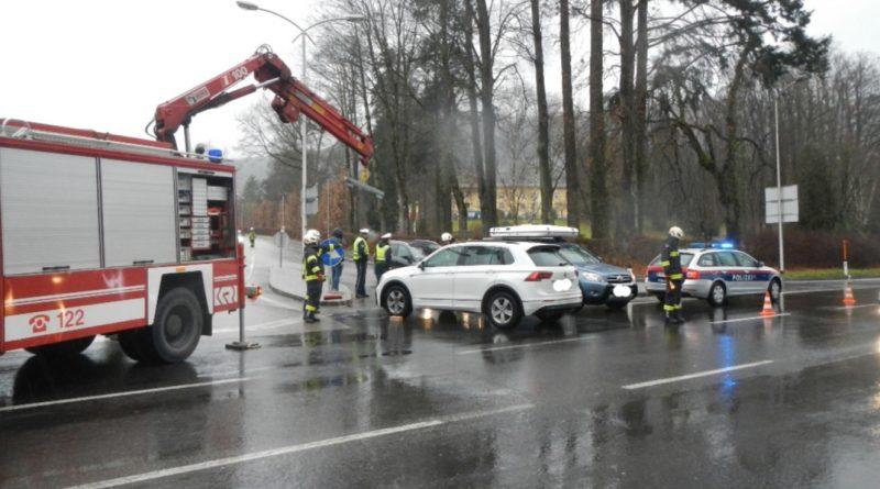 Verkehrsunfall B145