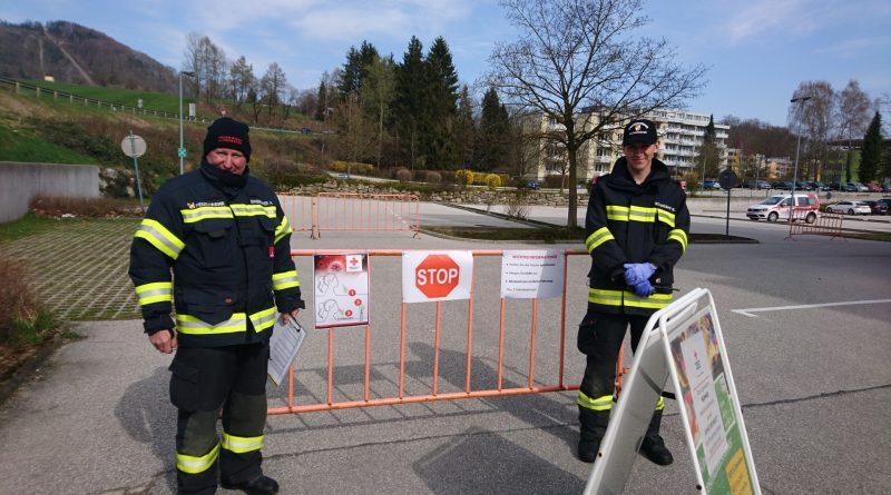 Unterstützung des Roten Kreuz