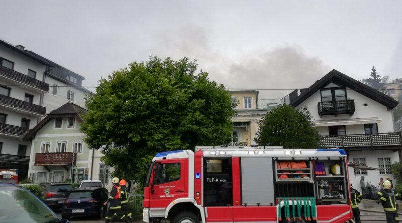Brand in Gmunden