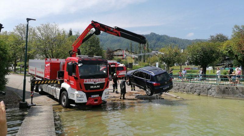 Fahrzeugbergung am Traunsee